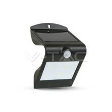 V-TAC Ηλιακό Φωτιστικό Κήπου LED 1.5W Μαύρο με Aισθητήρα