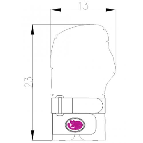 Ηλεκτρική Θερμοφόρα - Θερμαινόμενο Επίθεμα Χεριού - Καρπού με Μπαταρία  Pekatherm 0b373483c0b
