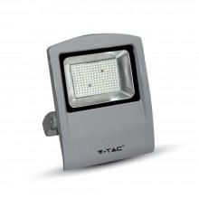 V-TAC Προβολέας LED 100W Γκρι Θερμό Φως